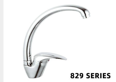 Good Quality CNC Turning Machine & Brass Home Depot Faucets Sink Kitchen Single Handle Chrome Mixer on sale