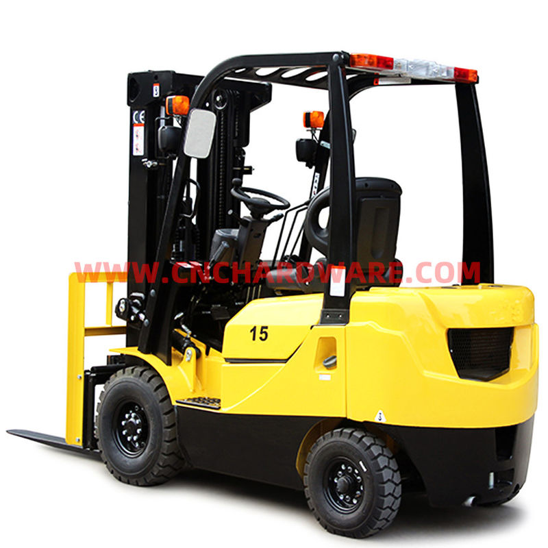 Diesel 3000mm Lift Load 1500kg Reach Forklift Trucks
