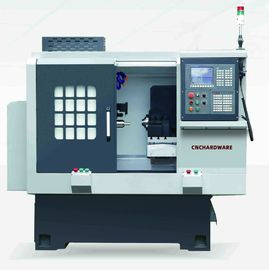 Dual Spindle Accurate Cnc Turning Machine Sa28-S Fixed Spindle + Moveable Spindle