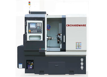 Horizontal CNC Turning Machine Linear Motion Guideway Flat Bed Without Tailstock FL300