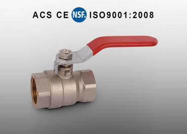 China Oil Gas Water Brass Ball Valve NPT/BSP Threads PTFE Seat Material factory