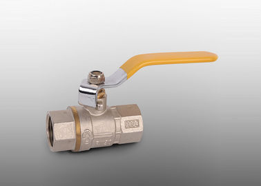 NPT/BSP Female Thread Forged Brass Ball Valve With Steel Pack Nut