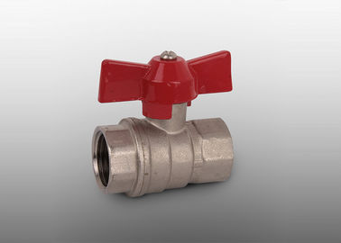 China PTFE Seal 2 Inch Brass Ball Valve -20℃-100℃ Working Temperature factory